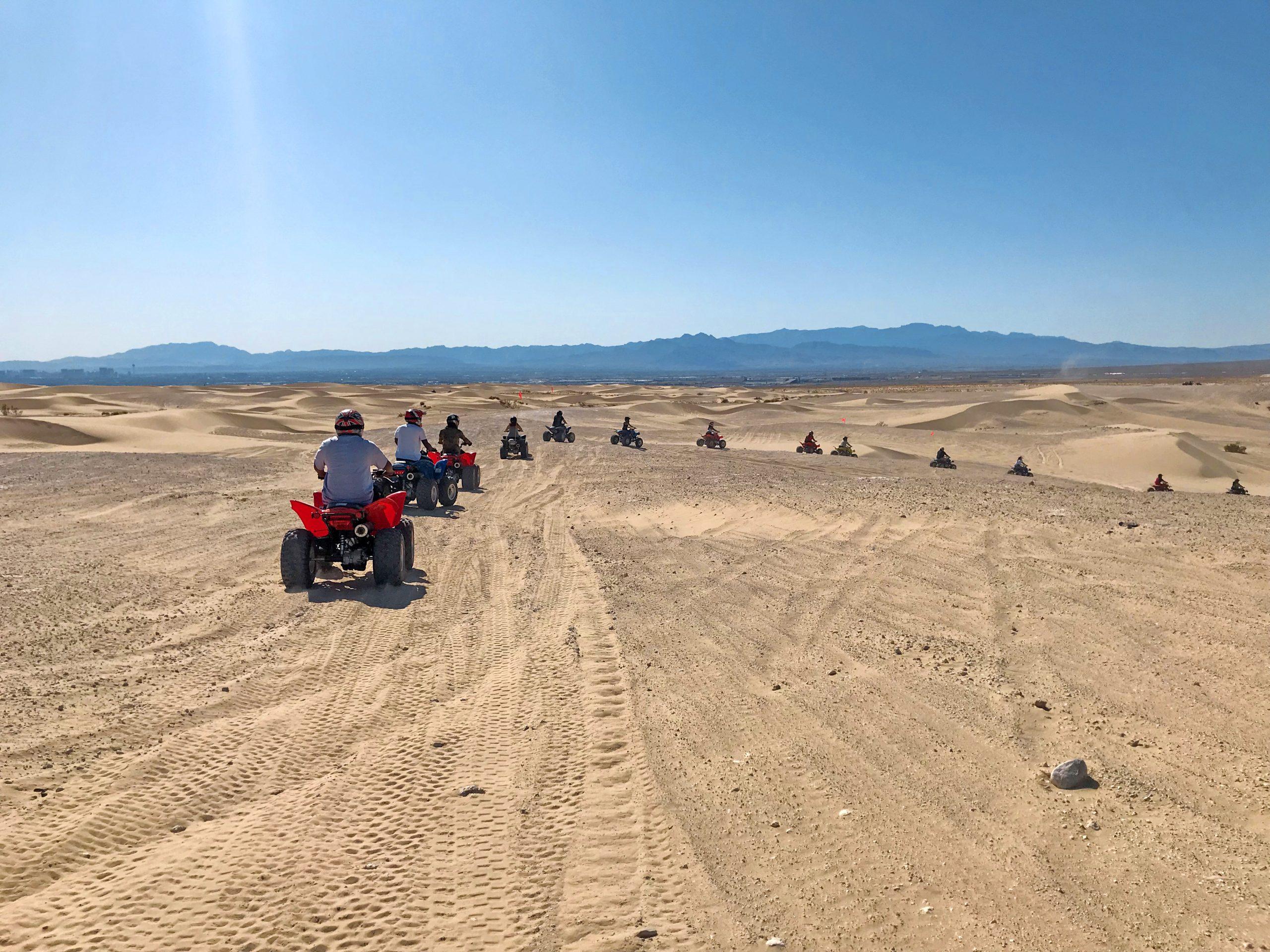 Las Vegas ATV Nellis Dune Tours